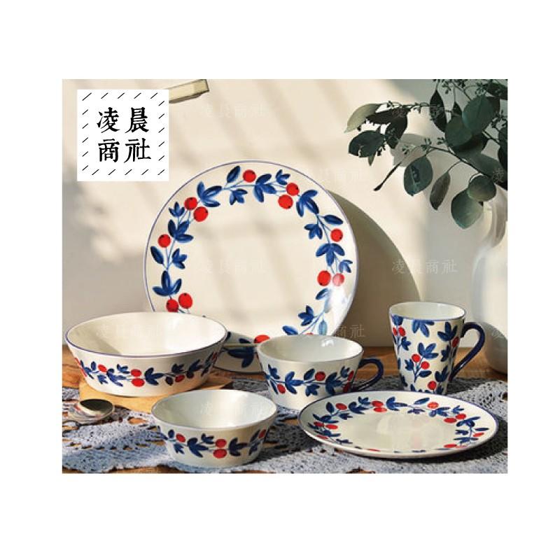 凌晨商社zakka francfranc 同款櫻桃醬果餐盤瓷盤拍攝道具