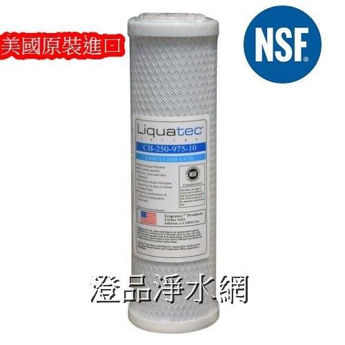 ~美國 Liquatec ~CTO 壓縮活性碳NSF RO 逆滲透器淨水器過濾器