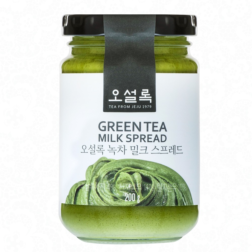 FINAL ↘130 韓國Osulloc 超濃抹茶牛奶醬200g 綠茶抹醬即期