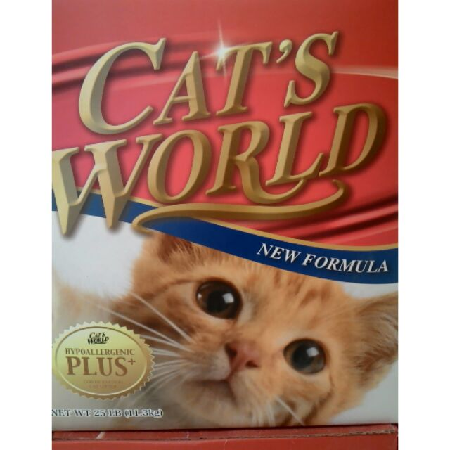超越ever clean 的cat s world 25 磅25LB 11 3KG 新春大