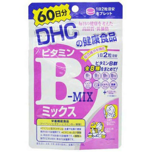 日本原裝 DHC 維他命B群 60日份
