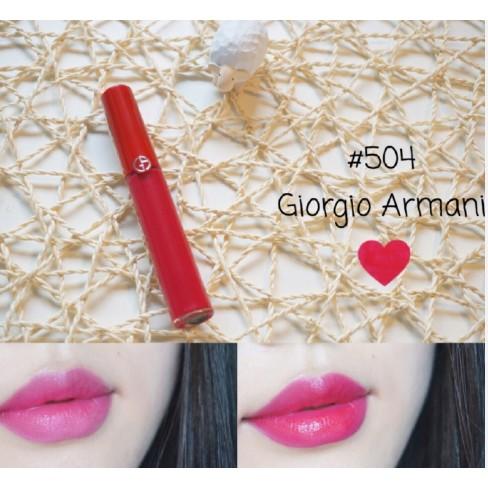 ~Nash Shop ~Giorgio Armani Lip Maestro 奢華絲絨訂製