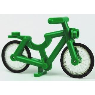 LEGO 腳踏車bicycle 綠橘黑紅