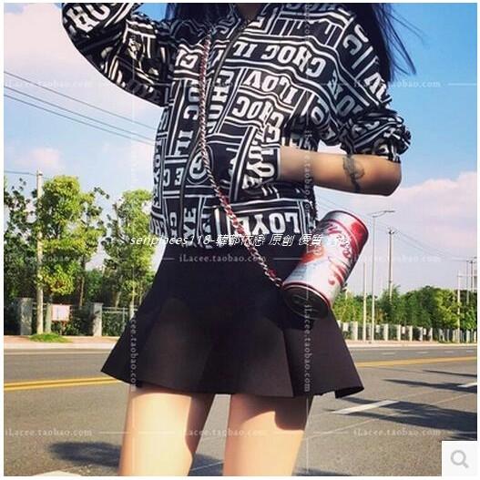 高腰百搭A 字半身裙顯腿長學院風百搭學生短裙潮寬褲褲裙長洋裝背心吊帶裙襯衫套裝長版連身裙罩
