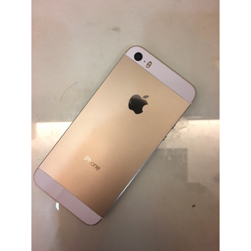 iPhone 5s 金色32g  中古機
