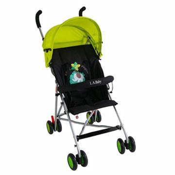 ~美國L A Baby ~亮彩輕便嬰兒手推車亮彩綠