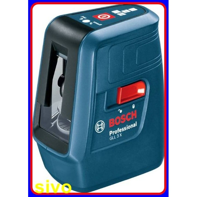 BOSCH GLL 3X 三線雷射墨線儀水平儀
