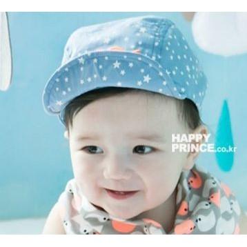 ~Redbit 婦嬰大碼專賣~ 星星翹鬍子潮流遮陽鴨舌帽兒童帽男童女童嬰兒帽