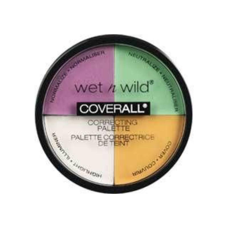 三件以上九折!新鮮 Wet n Wild CoverAll 四色校正盤唇膏打亮腮紅眼影眼線