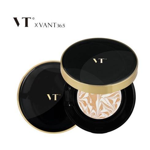 韓國VANT 36 5 陶瓷肌氣墊精華粉凝霜12g 粉底水光煥白保濕精華粉餅~B06257