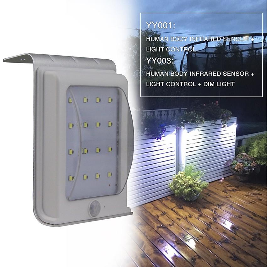 價IP65 戶外16LED 壁燈銀色燈具戶外