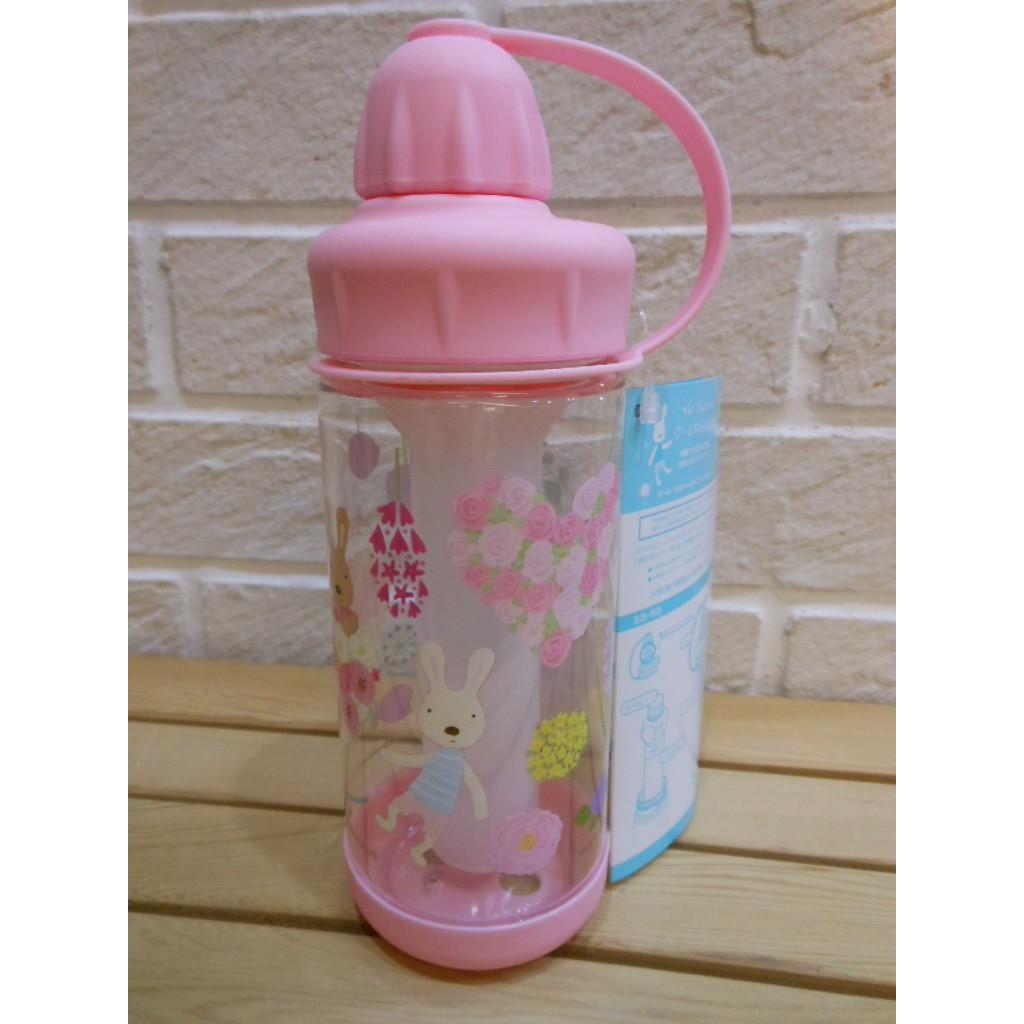 婕的店  帶回粉紅法國兔保冷水壺 製