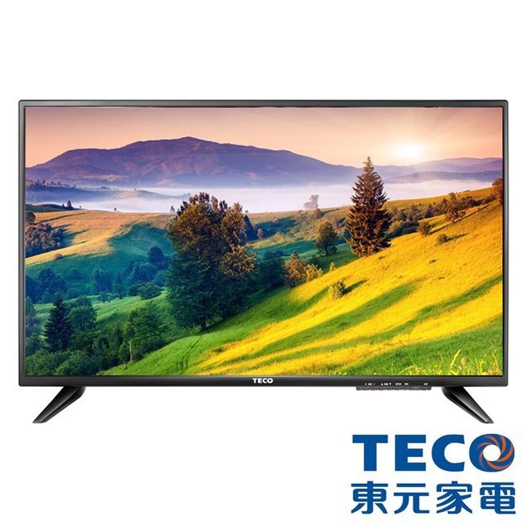 TECO 東元32 吋低藍光IPS 硬板高畫質液晶顯示器視訊盒32 吋LED 電視TL32