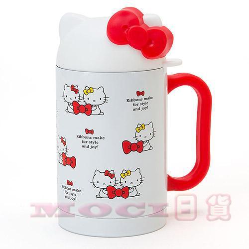 Hello Kitty 凱蒂貓不鏽鋼保溫杯保溫保冷瓶水杯水壺生日 ~MOCI 日貨~