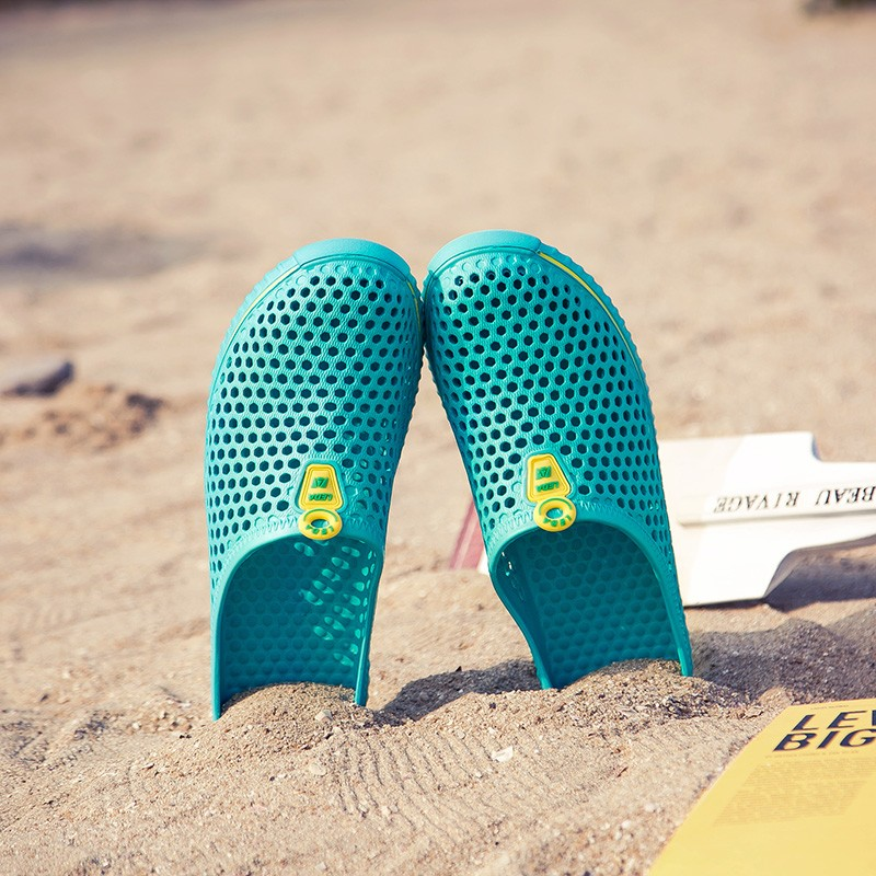新品好穿沙灘情侶鞋涼拖百搭休閒拖鞋