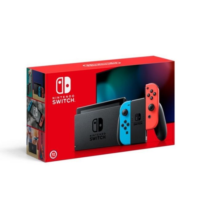 現貨 NS Nintendo Switch 新型台灣專用電力加強版主機