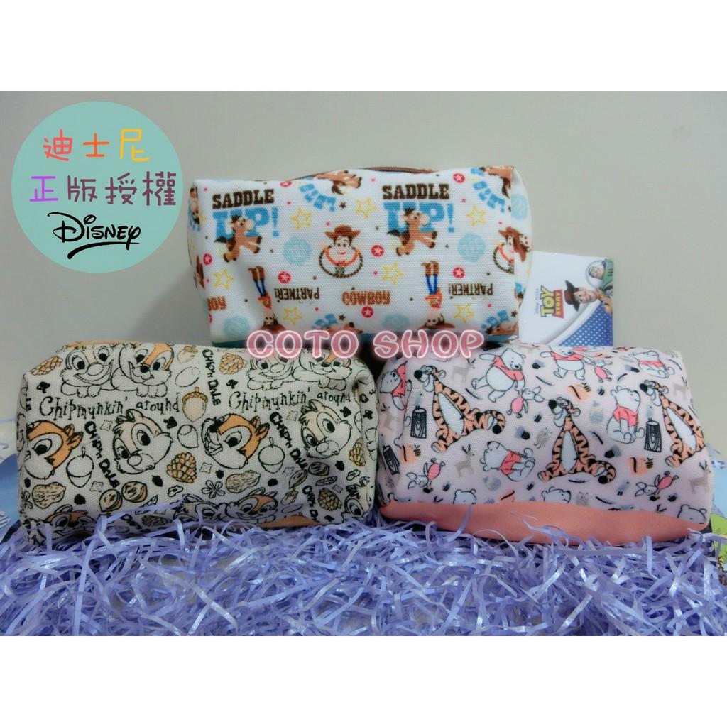 出貨快迪士尼收納包1 可愛 化妝包筆袋零錢包萬用包米奇米妮史迪奇奇蒂蒂小熊維尼玩具總動員女