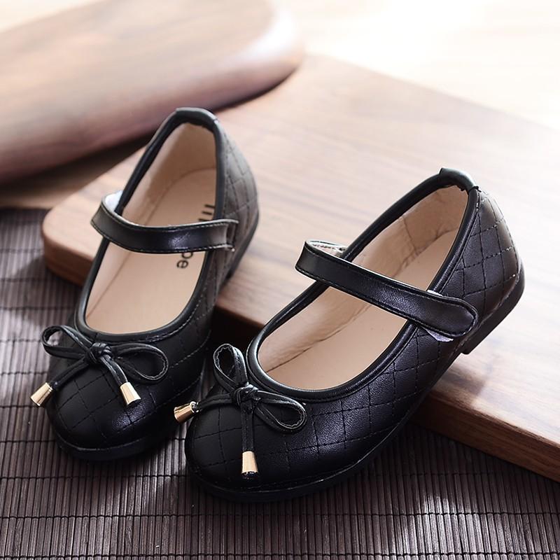 好2016 春秋 女童皮鞋寶寶單鞋公主鞋中大童學生黑色兒童鞋子軟底