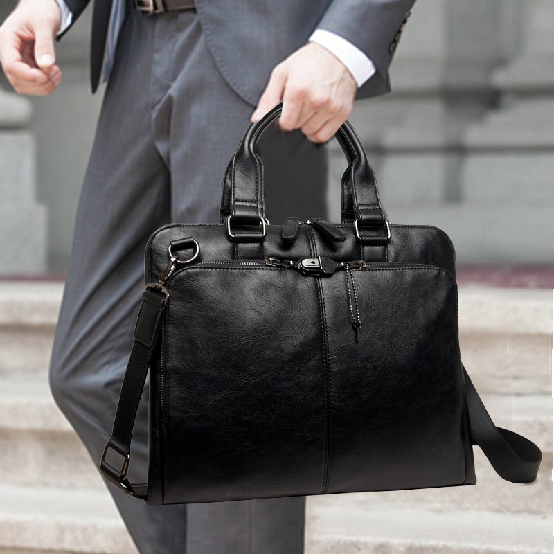 非凡領域 公文包商務包手提包斜挎單肩包斜跨包男包包男士 包袋