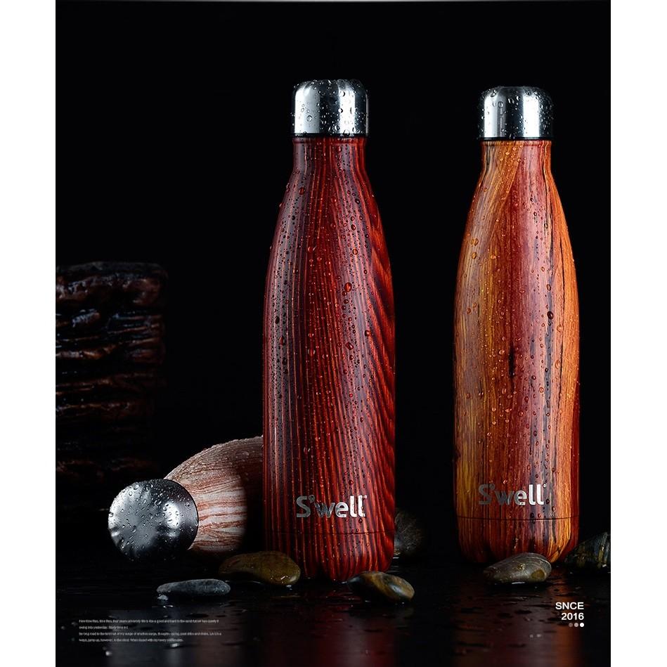 swell bottle 原木紋保溫杯