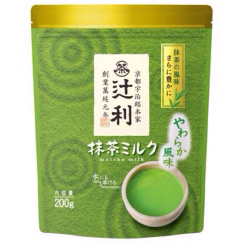 來嘍 限定辻利抹茶拿鐵粉200g  抹茶想喝多少濃淡自己決定加鮮奶豆漿更好喝