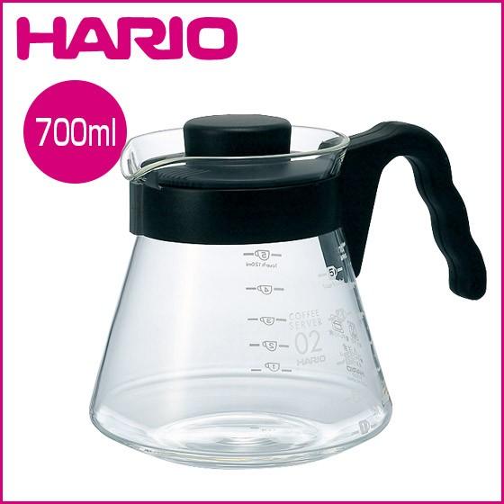 ~J Mi Cafe ~ HARIO V60 好握耐熱玻璃壺700ml 可微波1 5 杯用