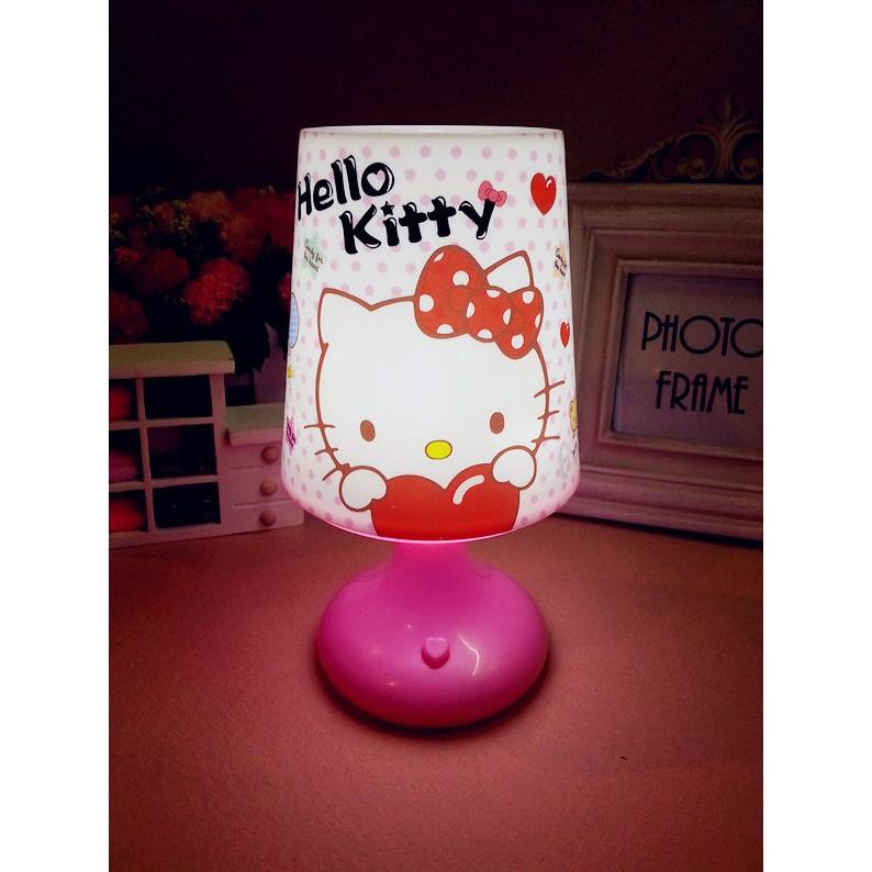 _ hellokitty 卡通檯燈KT 凱蒂貓七彩節能USB 裝飾LED