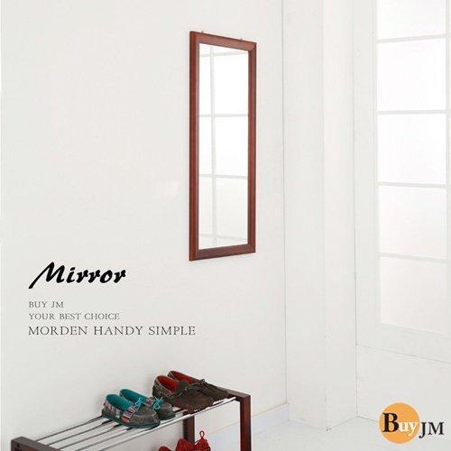 ~美物.儷家~古典實木壁鏡穿衣鏡化妝鏡長鏡掛鏡90 40 公分~MR559 ~