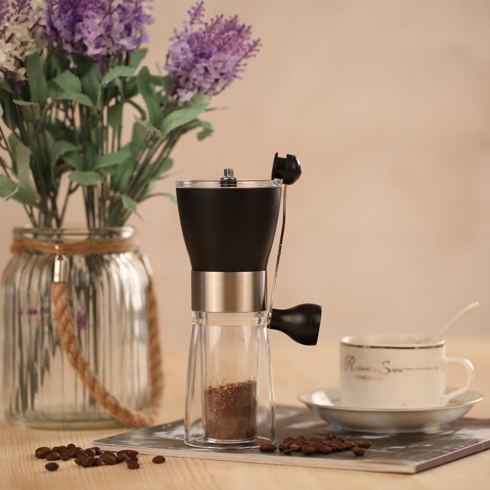 便攜式手動咖啡豆研磨器手搖咖啡機陶瓷磨豆機