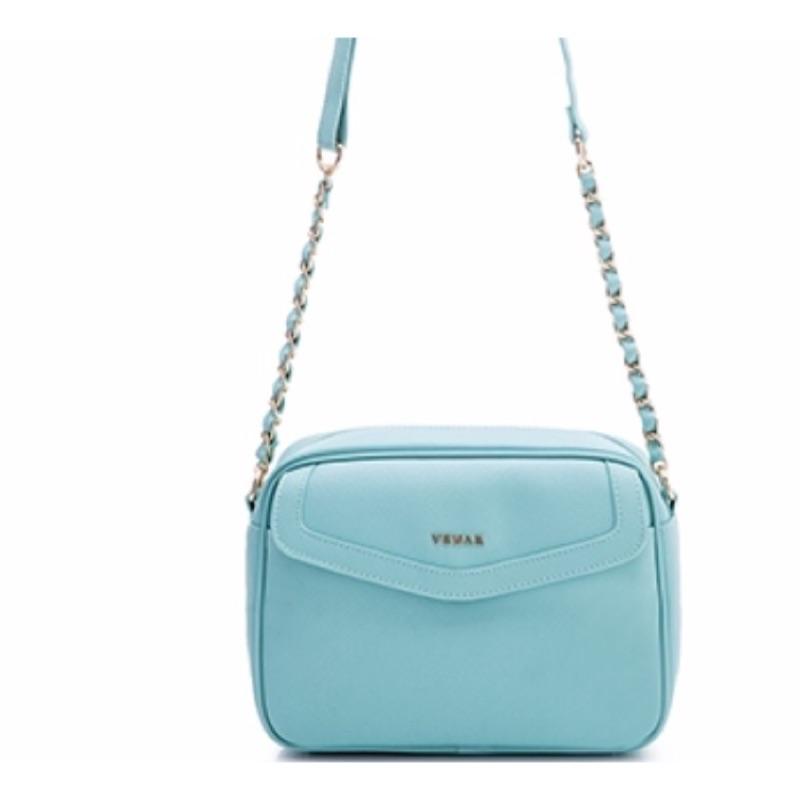 VEMAR 美式甜心芭比鍊帶包Tiffany 藍