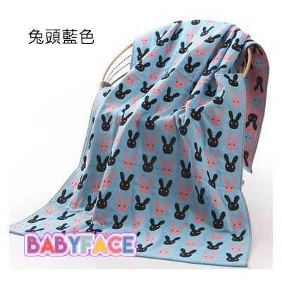 三層紗布大浴巾蓋毯包巾四季皆宜KITTY 貓史努比藍兔粉兔小魚賣場花色多70 140cm