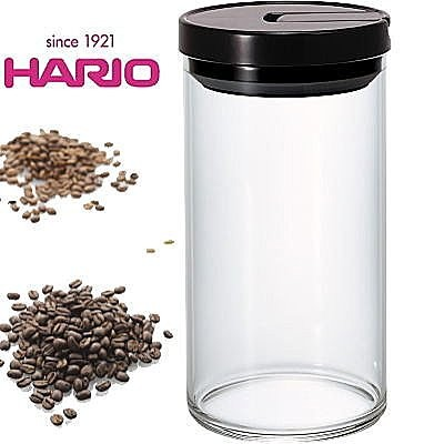 知名品牌HARIO 1000ml 玻璃密封罐咖啡儲存罐MCN 300B