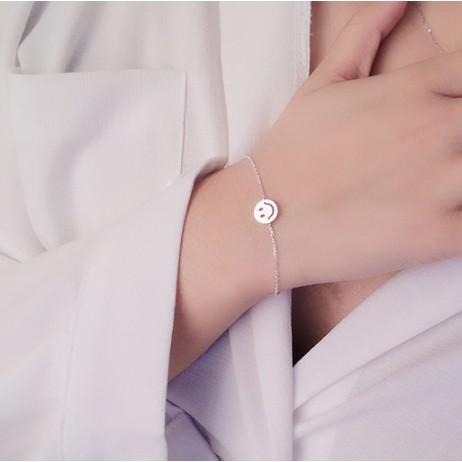 韓國可愛笑臉手鍊女 甜美 簡約百搭 學生飾品