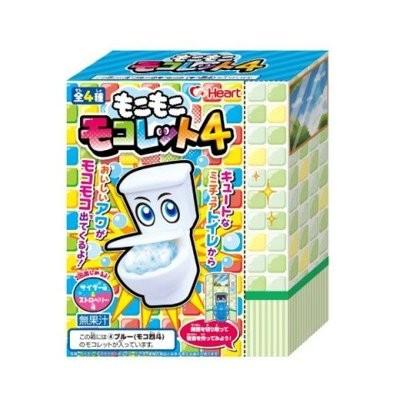 Japanonline  超 第4 代Heart 馬桶糖DIY 飲料泡泡糖蘇打 食玩製作