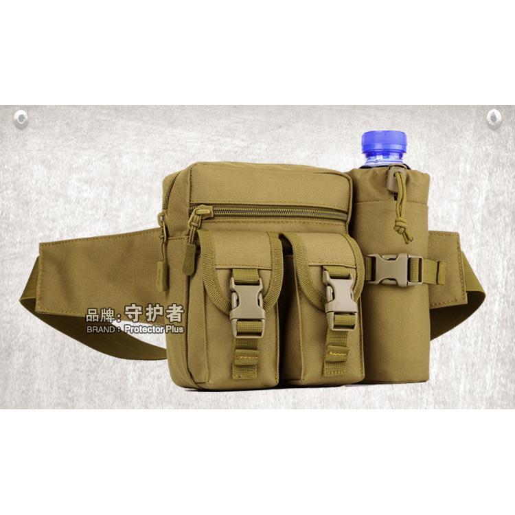 守護者工具挎包騎行水壺腰包旅行男包戰術戶外腰包小胸包女路亞包