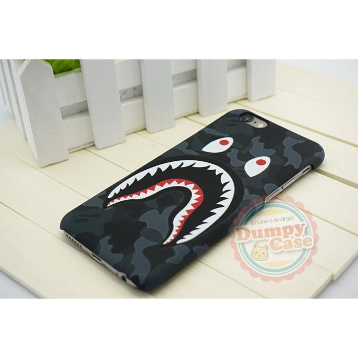 ~DUMPY CASE ~iPhone6 6s Plus Bape ape 潮牌迷彩鯊魚外