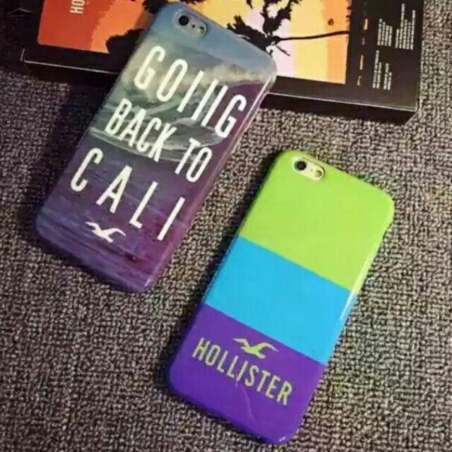 潮牌Hollister 海鷗風TPU 手機殼iphone7 7plus iphone6 6