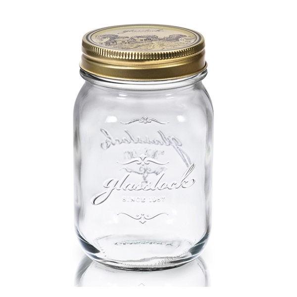 Glasslock 玻璃密封罐1000ml 沙拉罐梅森瓶大廚師 大廚師