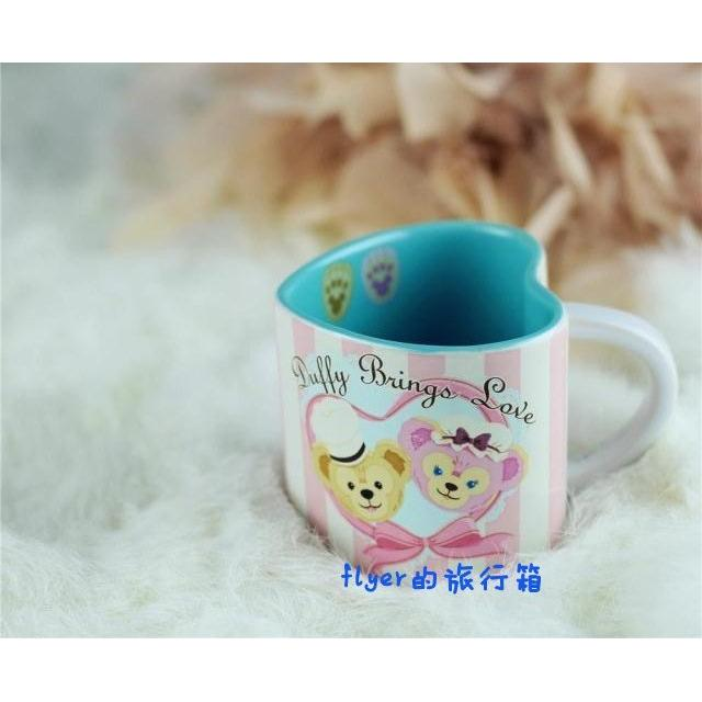 ~flyer 的旅行箱~東京迪士尼情人節已絕版達菲duffy 咖啡杯
