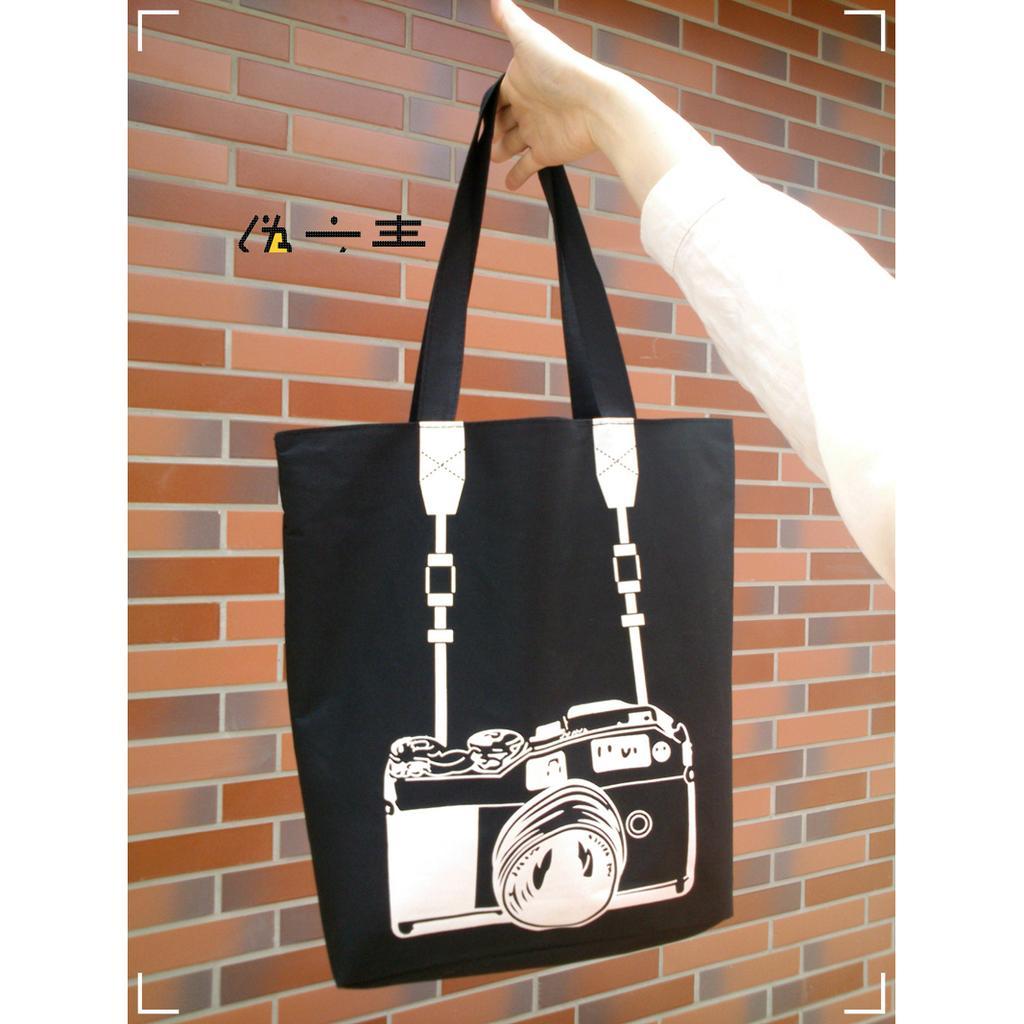 類單眼帆布包相機旅行袋媽媽包 袋環保包超大容量B4 可裝文青日韓風簡約休閒雜貨復古行李箱包