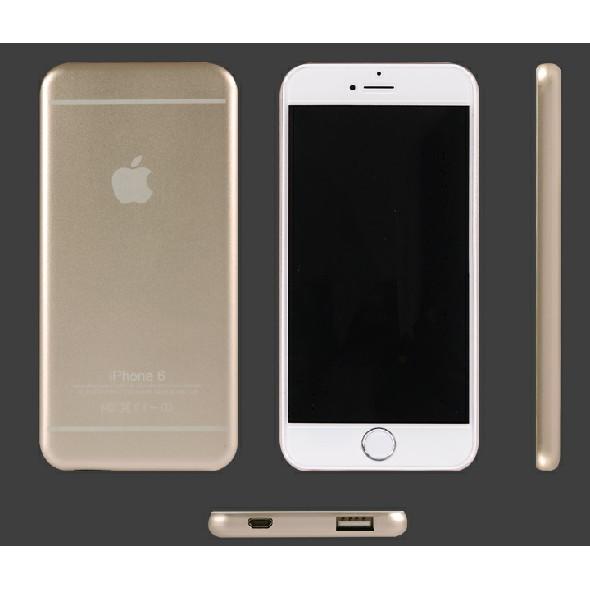 iphone6puls 手機充電寶便攜移動電源聚合物隨身超薄行動電源正品