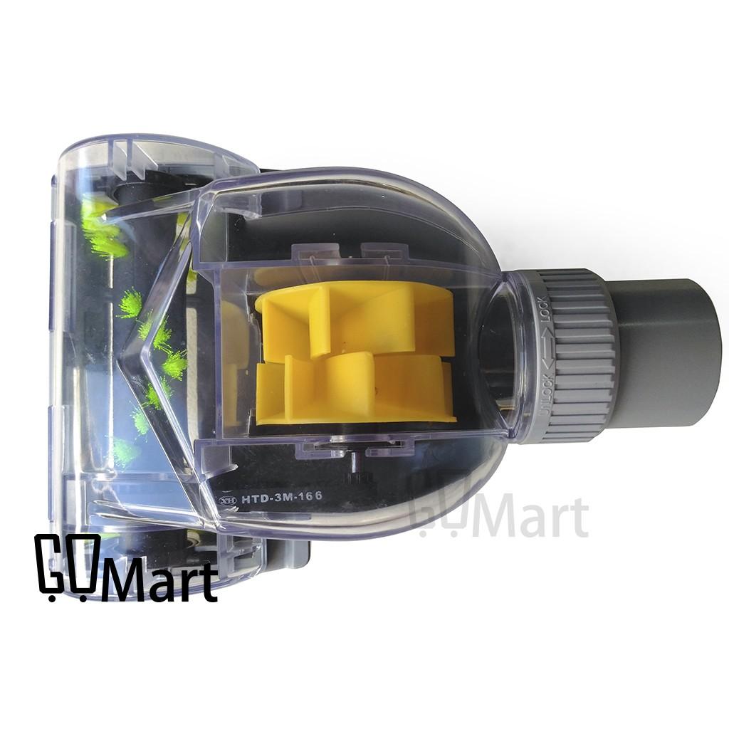 ~GoMart ~氣動渦輪震動除塵蟎吸塵器刷頭吸塵器頭除蟎刷頭風動 輪滾刷吸頭32mm 3