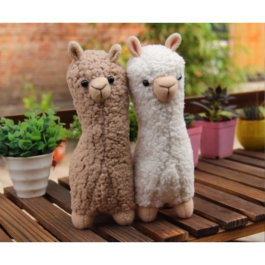 咕嚕手做小鋪 毛絨絨免裁剪可愛羊駝材料包草泥馬DIY 娃娃玩具玩偶