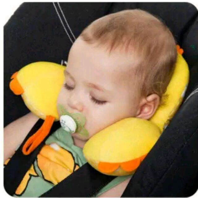寶寶護頸枕U 型旅行枕頭嬰兒汽車安全座椅靠枕嬰幼兒用品汽車坐椅手推車護頸枕~漾媽咪嬰幼兒用