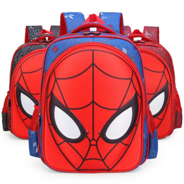 蜘蛛人復仇者聯盟兒童書包雙肩書包減壓書包護脊書包後背包手提包學齡前幼稚園小學1 6 年級