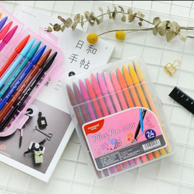 韓國monami 慕娜美3000 糖果色水彩筆水性筆彩繪筆
