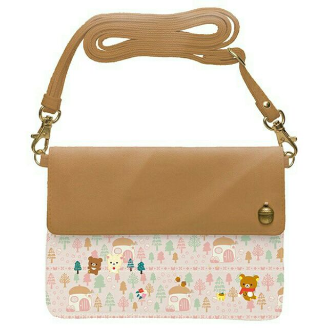 ~10 月 ~(森林栗子風格~皮夾包包-側背包)San x 懶熊拉拉熊小雞森林小熊蜜茶熊(