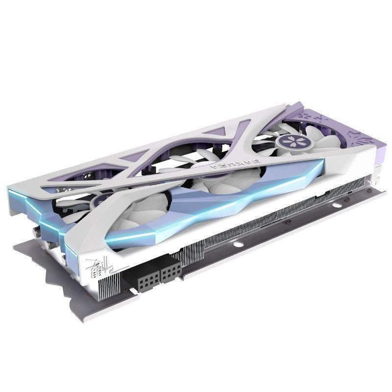 盈通 AMD RADEON RX 6800XT 櫻瞳花嫁紀念版 7nm16GB 游戲顯卡