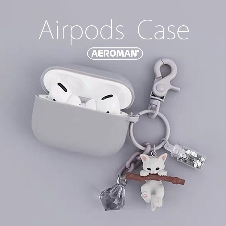 airpods pro 保護套 貓咪 貓  鑰匙圈 咪咪 鬥牛犬 狗狗 科基 柴犬 法鬥