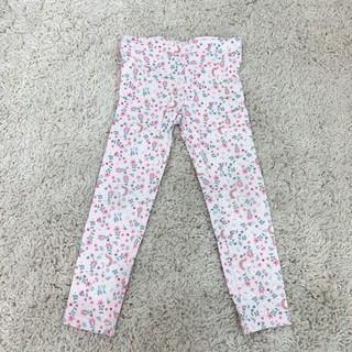 Carter's 獨角獸小花長褲 3-4T